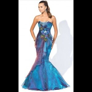 NWT Blush Prom # 9318 - Prom -Pageant - Formal